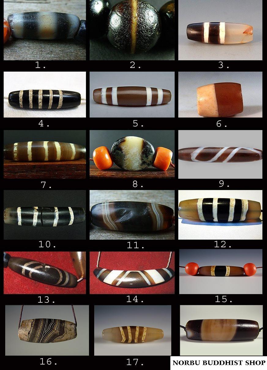 Tìm hiểu về Chong dzi - Chung dzi một chủng dzi phổ biến của dzi bead 4