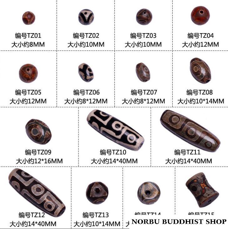 Tổng hợp các tên gọi và phân loại đầy đủ về Dzi bead 1