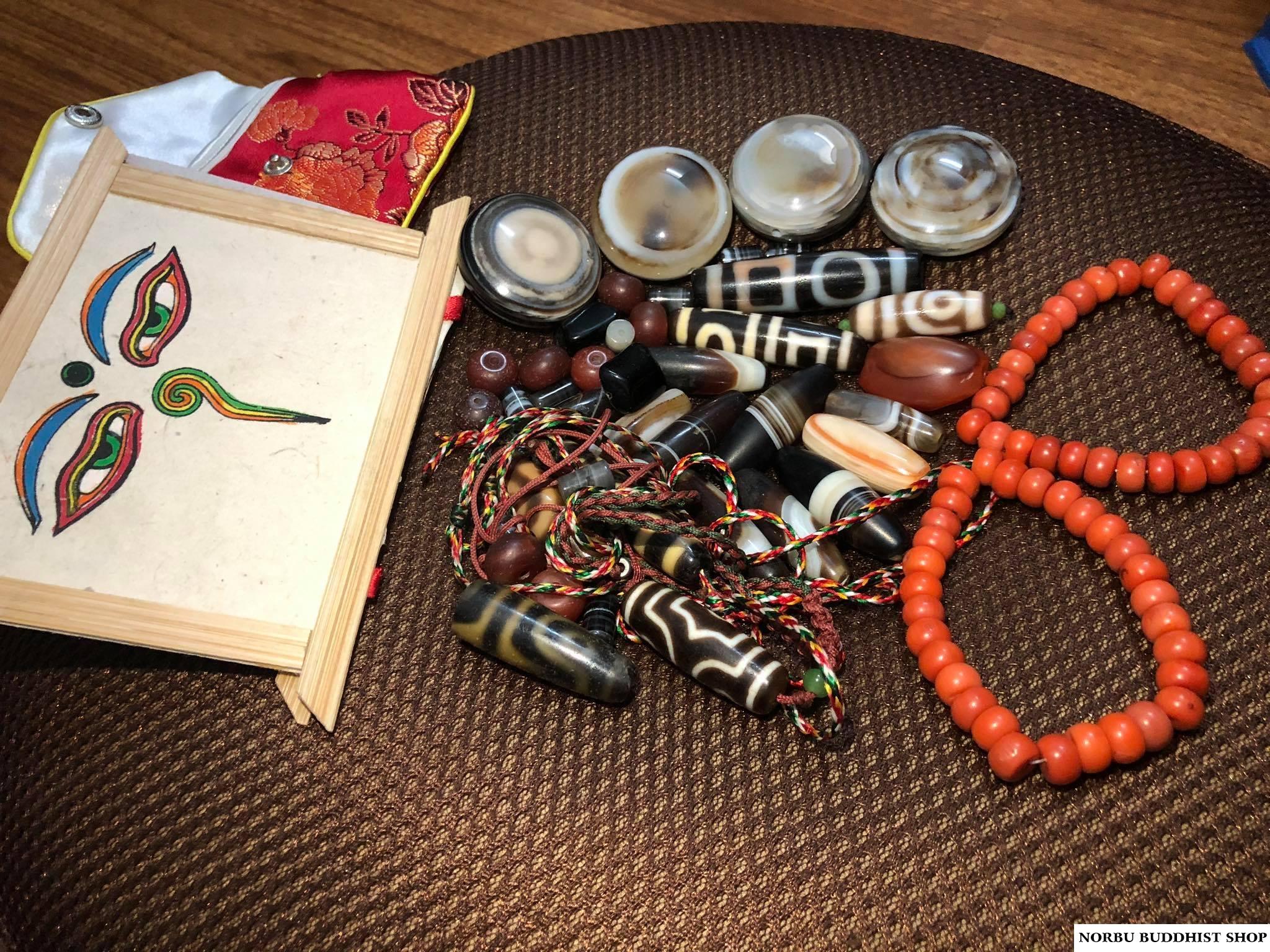 Bàn về vấn đề tâm linh của dzi bead - các mô tả tha lực của dzi có thực sự chính xác 2