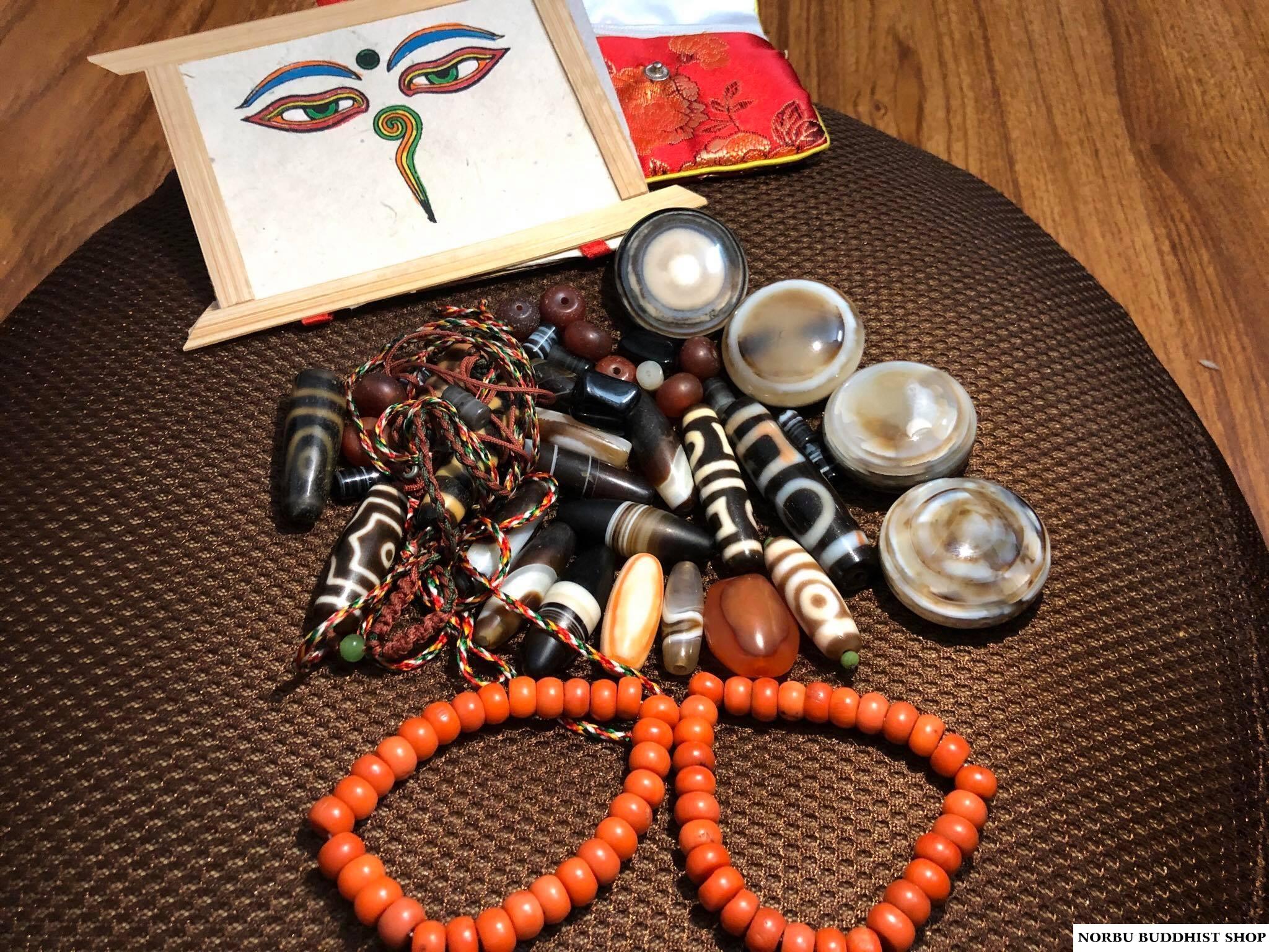 Bàn về vấn đề tâm linh của dzi bead - các mô tả tha lực của dzi có thực sự chính xác
