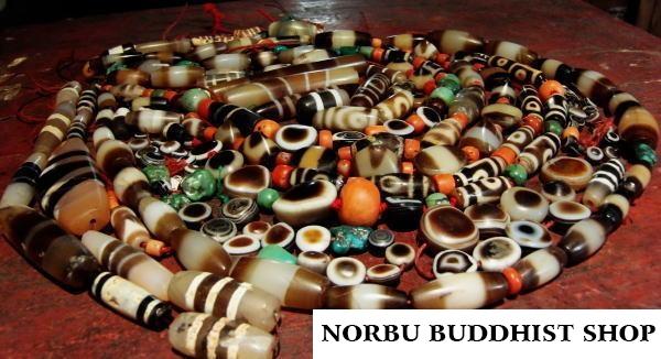 Tìm hiểu về old dzi bead dấu hiệu xác định được thiên châu cổ và bí ẩn của old dzi