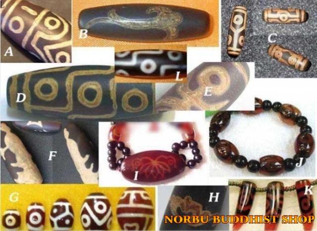 Đá dzi từ đâu mà có? Dzi bead thiên châu Tây Tạng có phải đá thiên nhiên?8