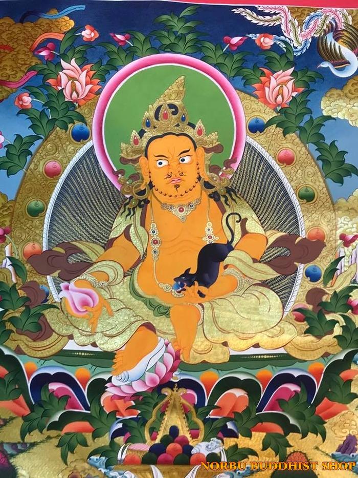 Tìm hiểu tranh Thangka Tây Tạng NGHỆ THUẬT THỊ GIÁC VÀ TÔN GIÁO 1
