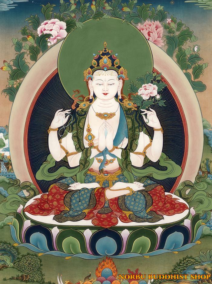 Tìm hiểu tranh Thangka Tây Tạng NGHỆ THUẬT THỊ GIÁC VÀ TÔN GIÁO part 1