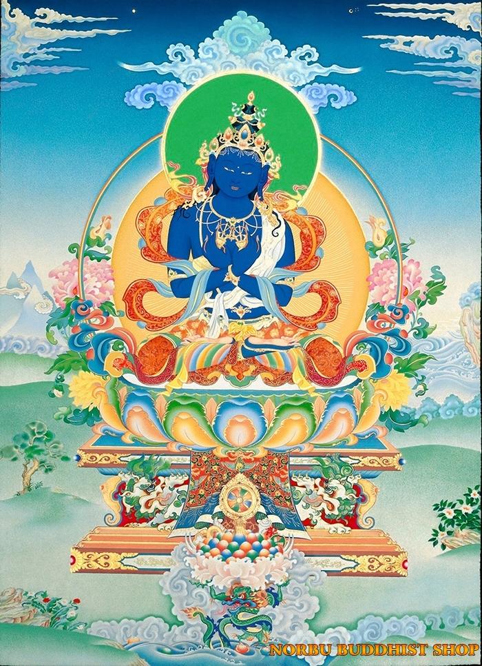Tìm hiểu tranh Thangka Tây Tạng NGHỆ THUẬT THỊ GIÁC VÀ TÔN GIÁO 11