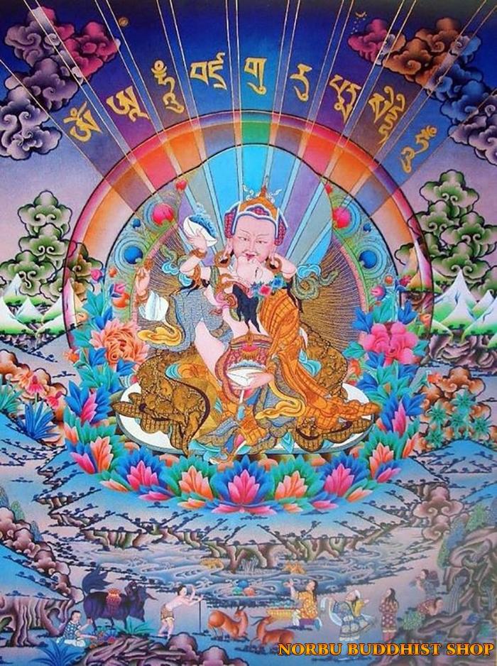 Tìm hiểu tranh Thangka Tây Tạng NGHỆ THUẬT THỊ GIÁC VÀ TÔN GIÁO 12