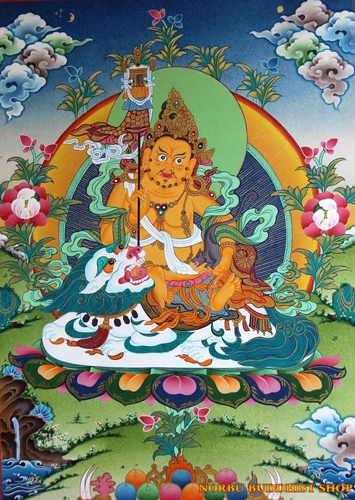 Tìm hiểu tranh Thangka Tây Tạng NGHỆ THUẬT THỊ GIÁC VÀ TÔN GIÁO 13