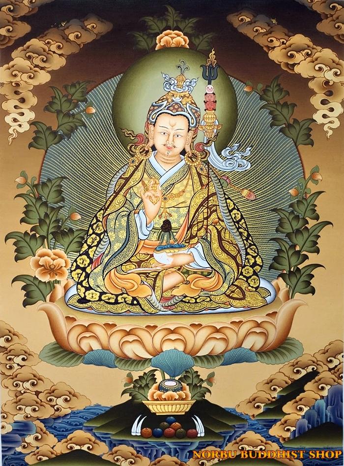 Tìm hiểu tranh Thangka Tây Tạng NGHỆ THUẬT THỊ GIÁC VÀ TÔN GIÁO 15