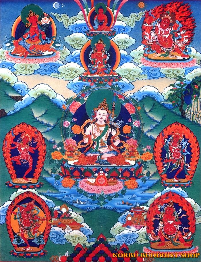 Tìm hiểu tranh Thangka Tây Tạng NGHỆ THUẬT THỊ GIÁC VÀ TÔN GIÁO 16