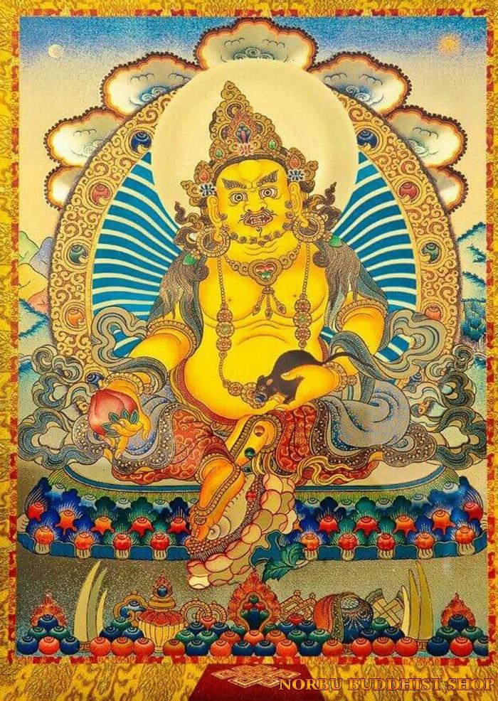 Tìm hiểu tranh Thangka Tây Tạng NGHỆ THUẬT THỊ GIÁC VÀ TÔN GIÁO 17