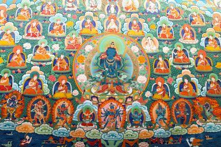 Tìm hiểu tranh Thangka Tây Tạng NGHỆ THUẬT THỊ GIÁC VÀ TÔN GIÁO 18