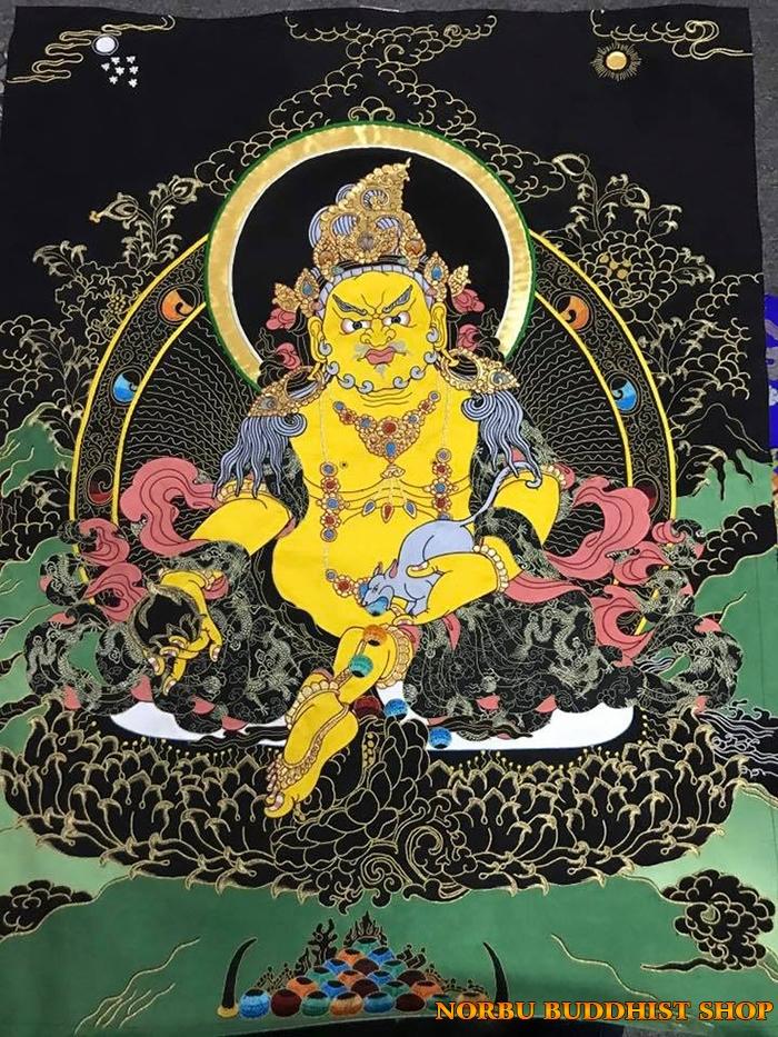 Tìm hiểu tranh Thangka Tây Tạng NGHỆ THUẬT THỊ GIÁC VÀ TÔN GIÁO 2