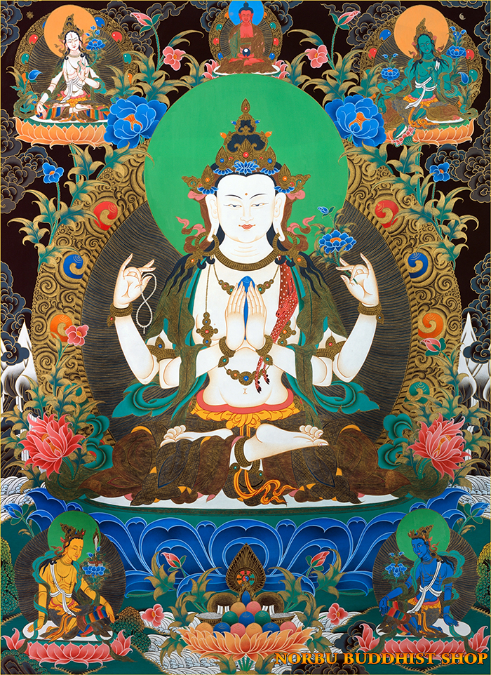 Tìm hiểu tranh Thangka Tây Tạng NGHỆ THUẬT THỊ GIÁC VÀ TÔN GIÁO part 2
