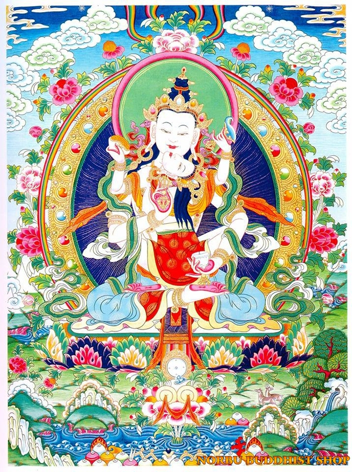 Tìm hiểu tranh Thangka Tây Tạng NGHỆ THUẬT THỊ GIÁC VÀ TÔN GIÁO 3