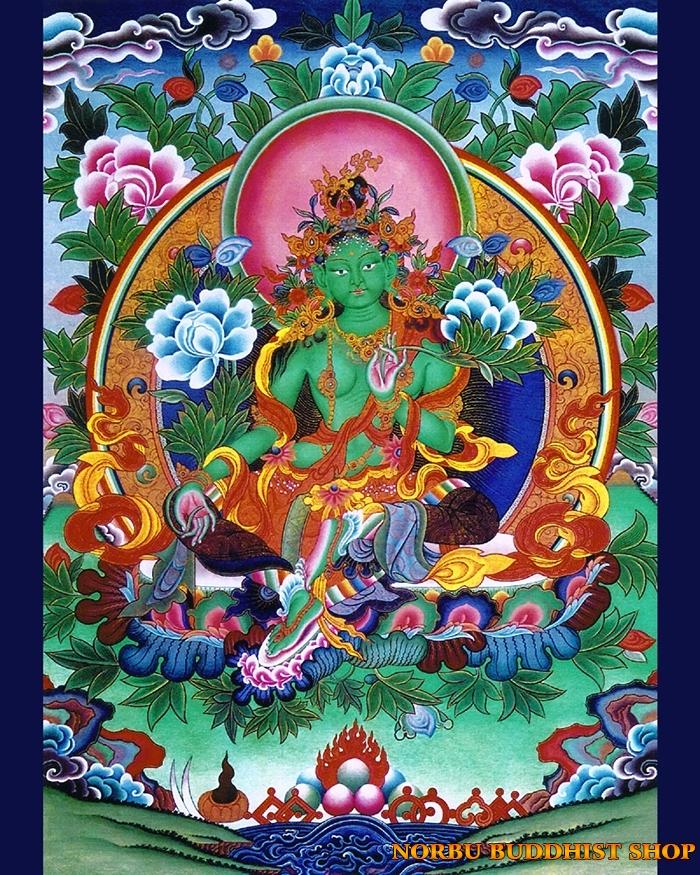 Tìm hiểu tranh Thangka Tây Tạng NGHỆ THUẬT THỊ GIÁC VÀ TÔN GIÁO 4