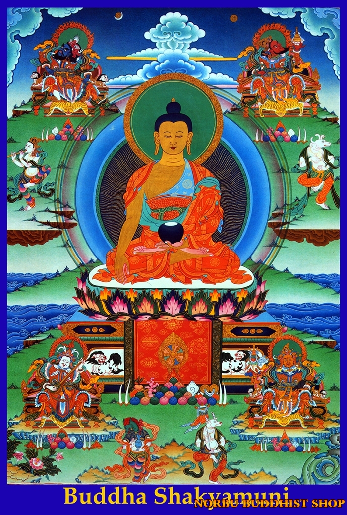 Tìm hiểu tranh Thangka Tây Tạng NGHỆ THUẬT THỊ GIÁC VÀ TÔN GIÁO 5