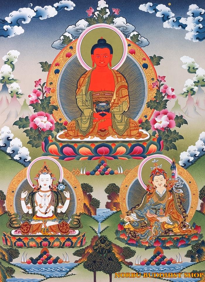 Tìm hiểu tranh Thangka Tây Tạng NGHỆ THUẬT THỊ GIÁC VÀ TÔN GIÁO 6