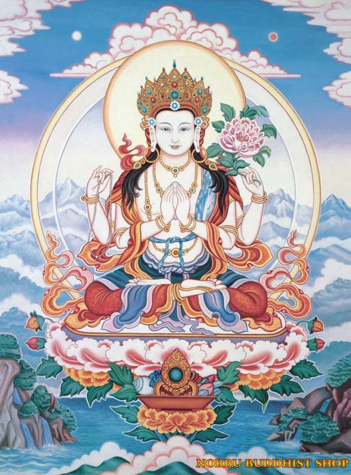 Tìm hiểu tranh Thangka Tây Tạng NGHỆ THUẬT THỊ GIÁC VÀ TÔN GIÁO 8