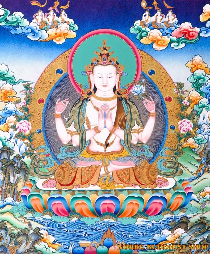 Tìm hiểu tranh Thangka Tây Tạng NGHỆ THUẬT THỊ GIÁC VÀ TÔN GIÁO 9