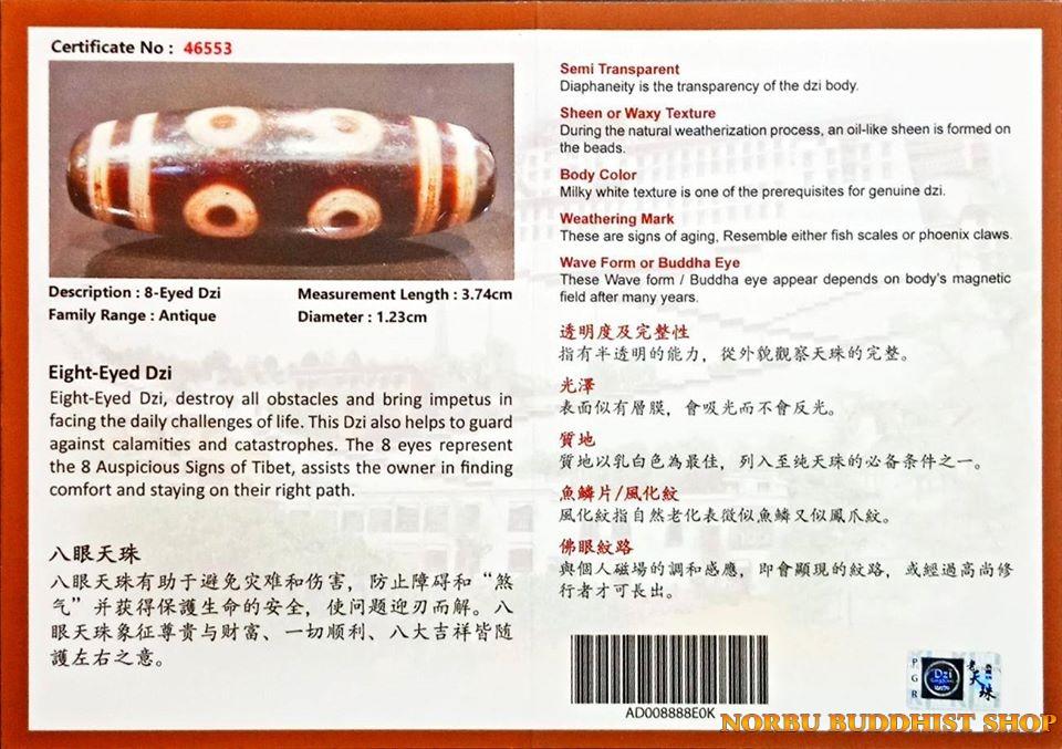 Tìm hiểu ý nghĩa các vân mắt trên new dzi bead - đá thiên châu mới cập nhật chi tiết 19