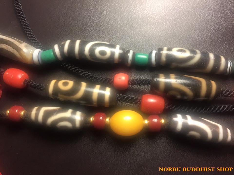 Bí mật phân loại đá dzi bead theo 5 cách khảm thiên châu Tây Tạng 111