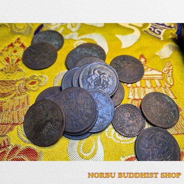 Old coin Tibet - tiền xu cổ Tây Tạng thời xưa