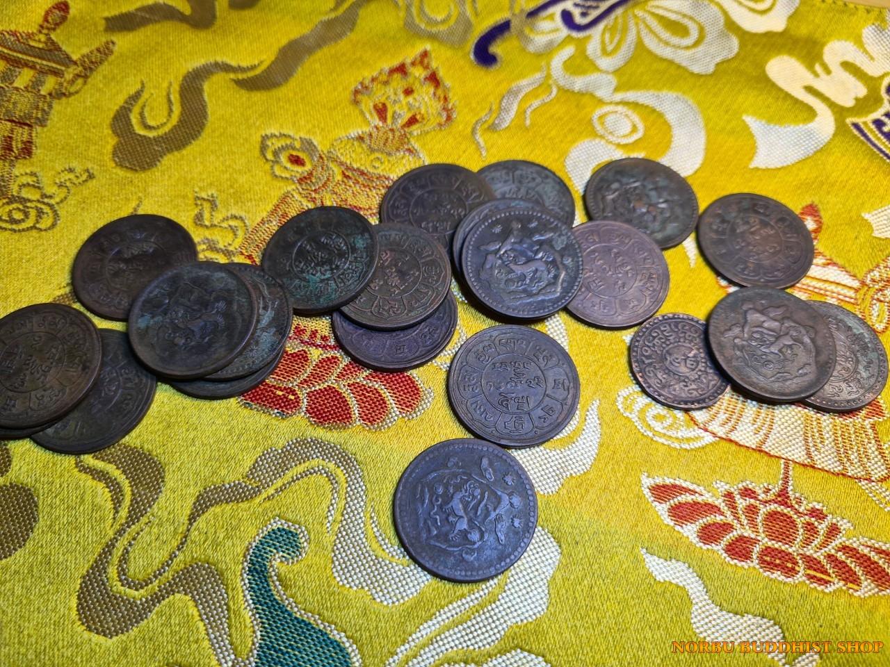 Old coin Tibet - tiền xu cổ Tây Tạng thời xưa 3