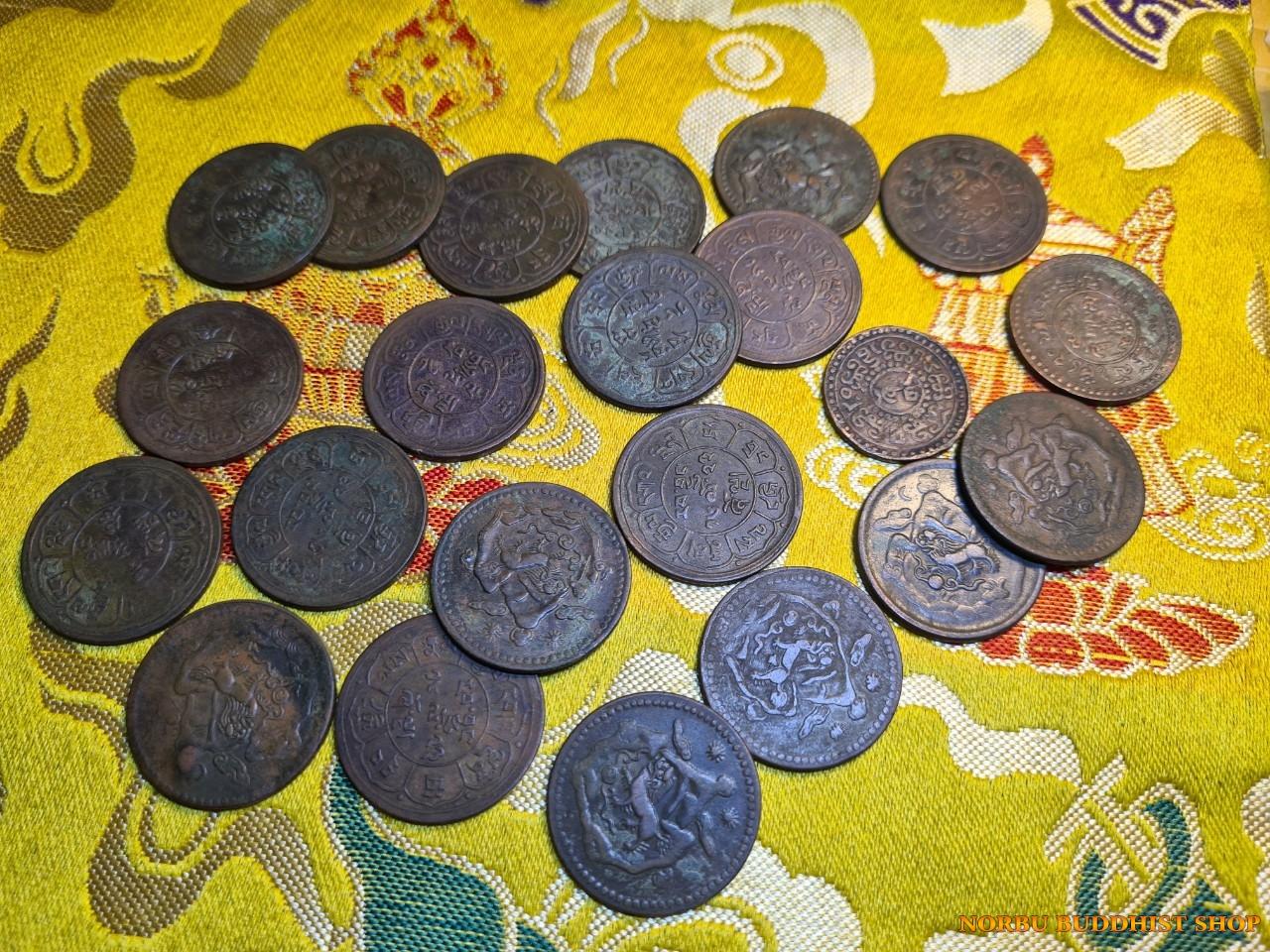 Old coin Tibet - tiền xu cổ Tây Tạng thời xưa 5