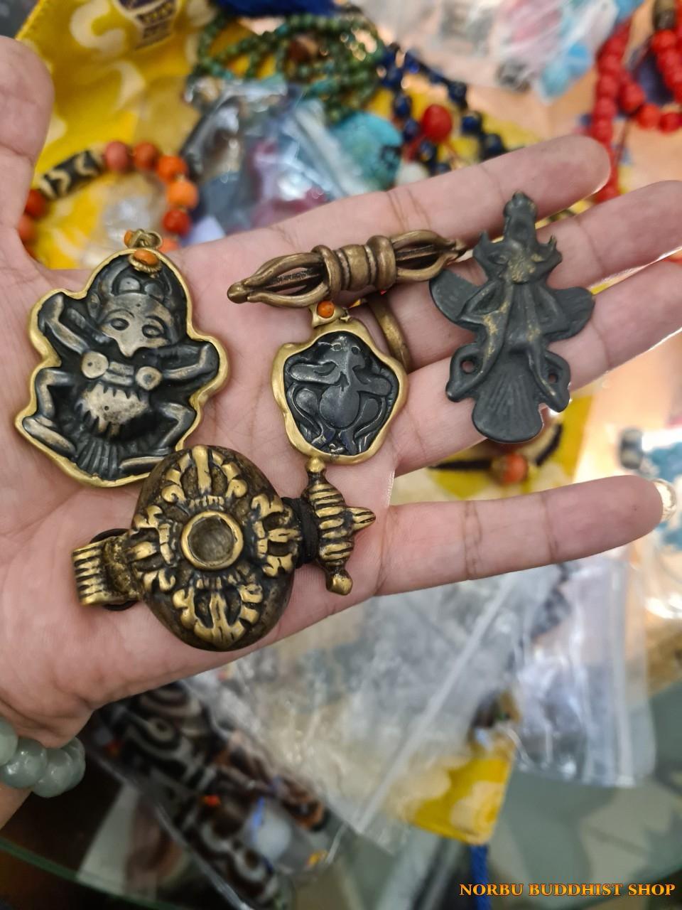 Thogcha cổ Tây Tạng - RARE hàng hiếm thokcha cổ bùa hộ mệnh sky iron Tibet 5