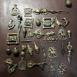 Thogcha Tibetan - bùa hộ mệnh thongcha Tây Tạng hàng cũ hiếm gặp