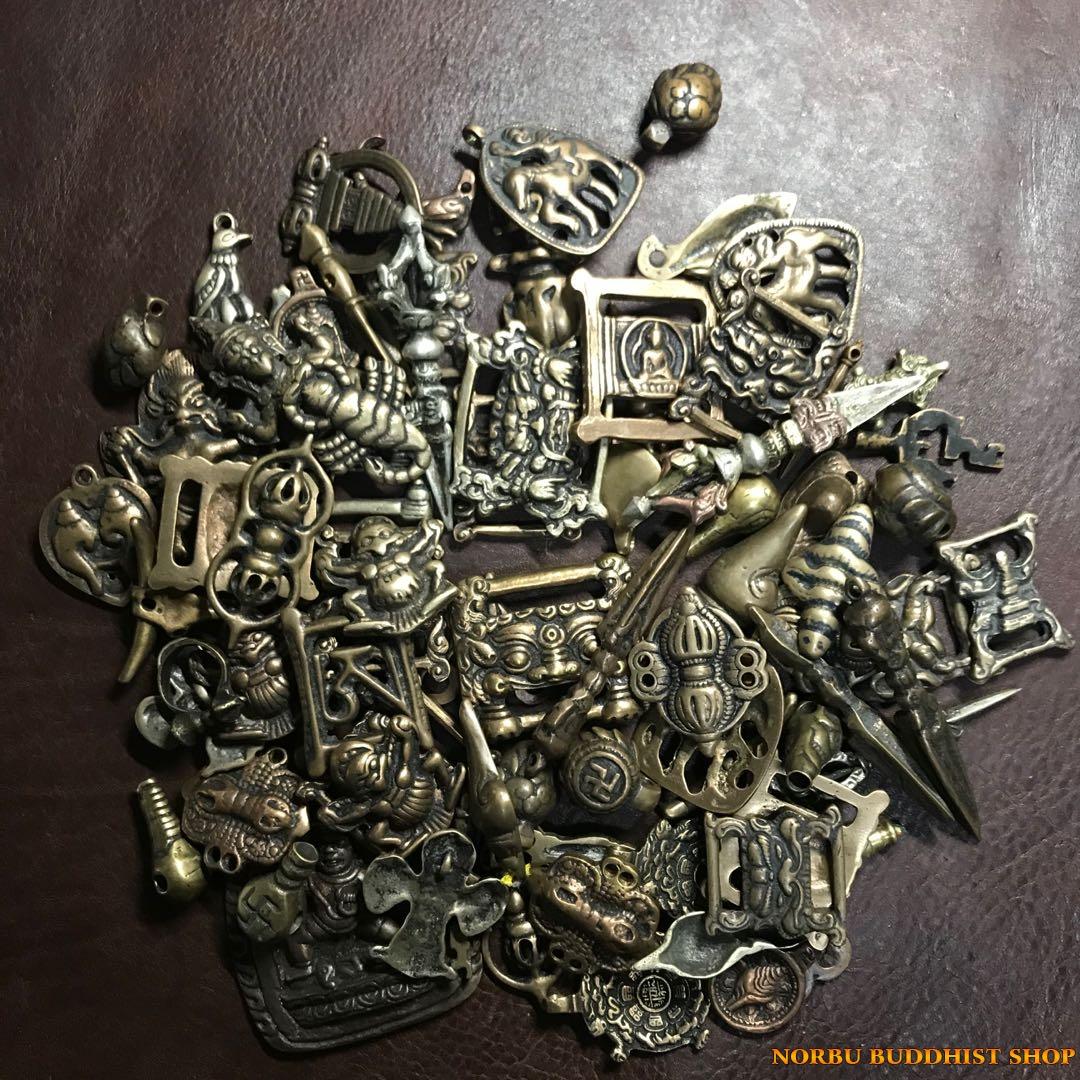 Thogcha Tibetan - bùa hộ mệnh thongcha Tây Tạng hàng cũ hiếm gặp 1
