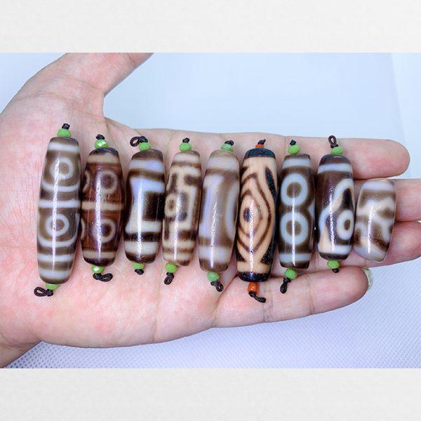 Tổng hợp đá dzi hàng A và A+ size ngắn dễ đeo và dễ mix thân mã não ngọc đẹp