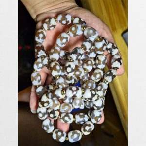 10 vòng tay mix charm dzi bead chữ thập chất ngọc đẹp giá siêu tốt