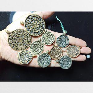Cửu cung văn thù bát quái Srid pa ho Thogcha đồng cổ Tây Tạng các mẫu độc bản