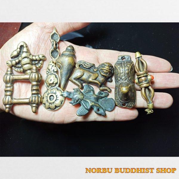 Old thokcha Tibet - bùa hộ mệnh Tây Tạng cổ đại từ đồng cổ xứ Tạng độc bản