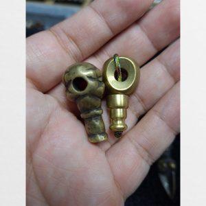 Thogcha đôi hạt cái xâu tràng 108 hạt bằng đồng từ Lhasa Tibet
