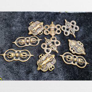Thogcha các mặt chày kim cang đeo cổ từ đông Tây Tạng chế tác thủ công