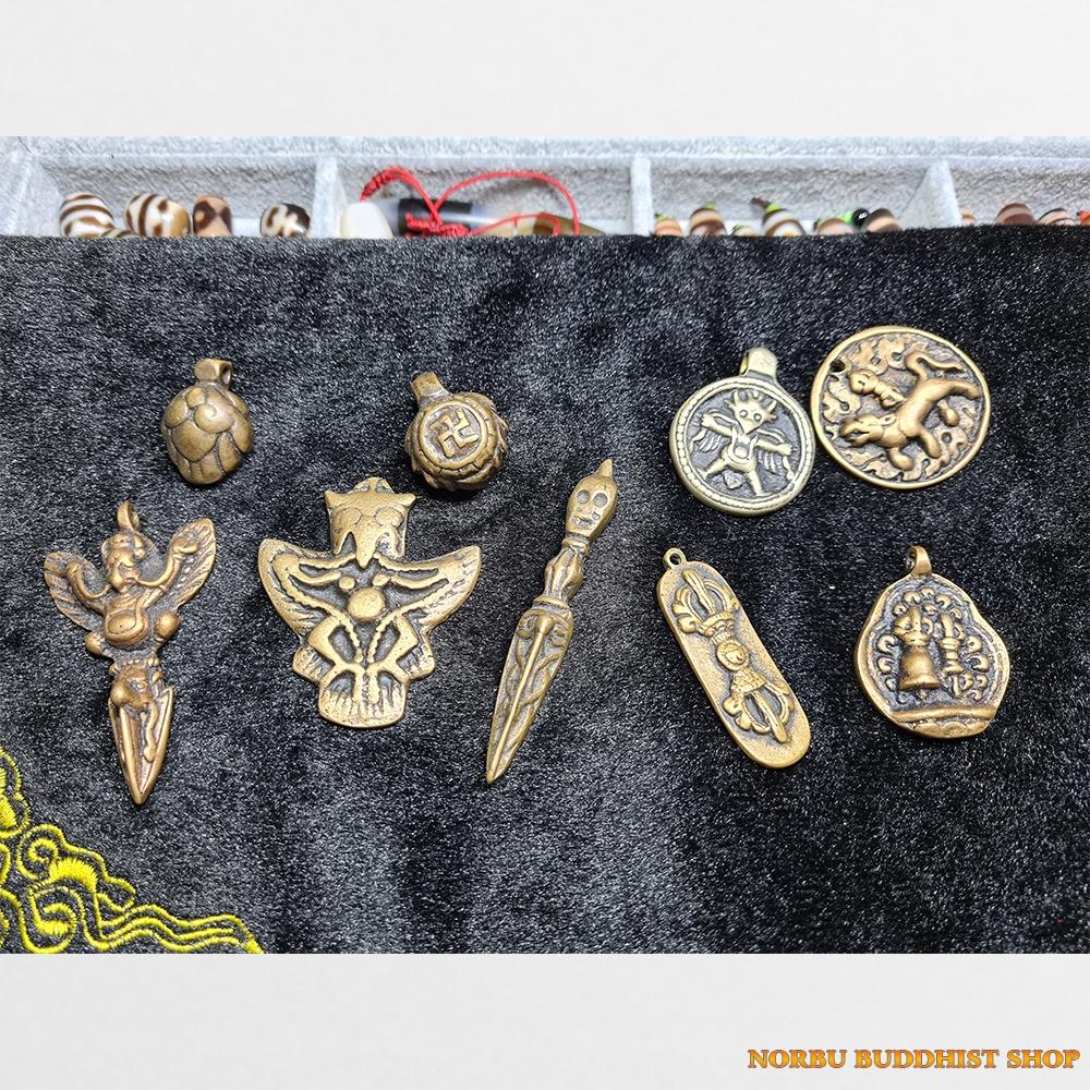 Thokcha cũ đồng cổ Tây Tạng từ Lhasa được làm thủ công từ dân Tạng