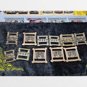Thokcha Old Copper Tibetan mắt nối dây buộc dây thogcha từ Tây Tạng