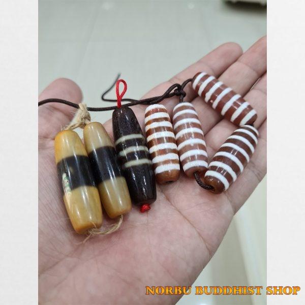 Tổng hợp chung dzi bead 1 sọc 3 sọc 3 viên 7 sọc thân đỏ hiếm gặp