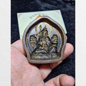 Khuôn đúc Tsa Tsa ngài Liên Hoa Sinh - Guru Rinpoche - antique