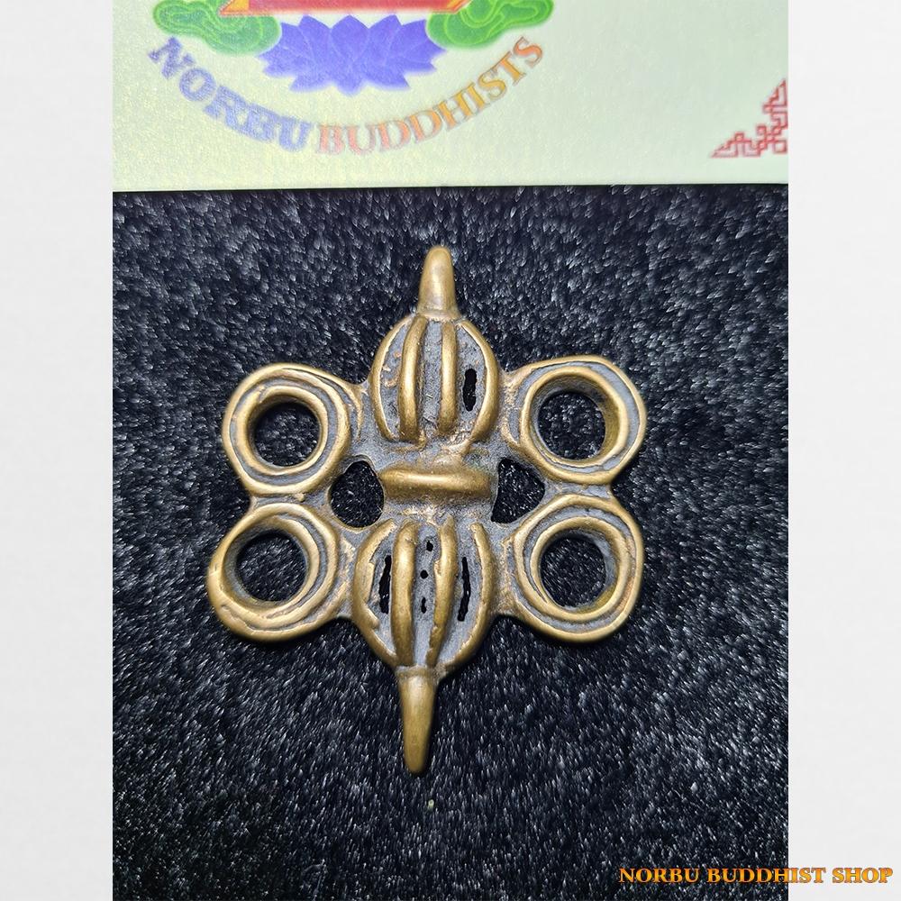 Thokcha chày kim cương với 4 vòng tròn lớn xung quanh Antique Tibet