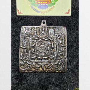 Thokcha cửu cung Văn Thù bát quái bản to vuông hàng Antique Tibet