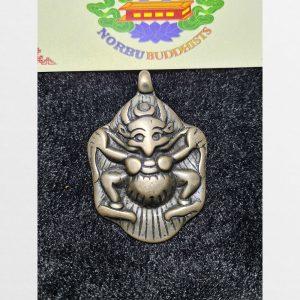 Thokcha Garuda Kim Sí Điểu mặt to chưa bọc hàng Antique Tibet