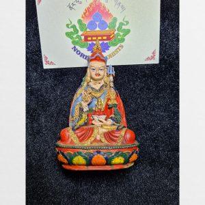 Tượng đất Guru Dewa antique Tibet - hiếm độc bản đã được yểm đồ trong tượng