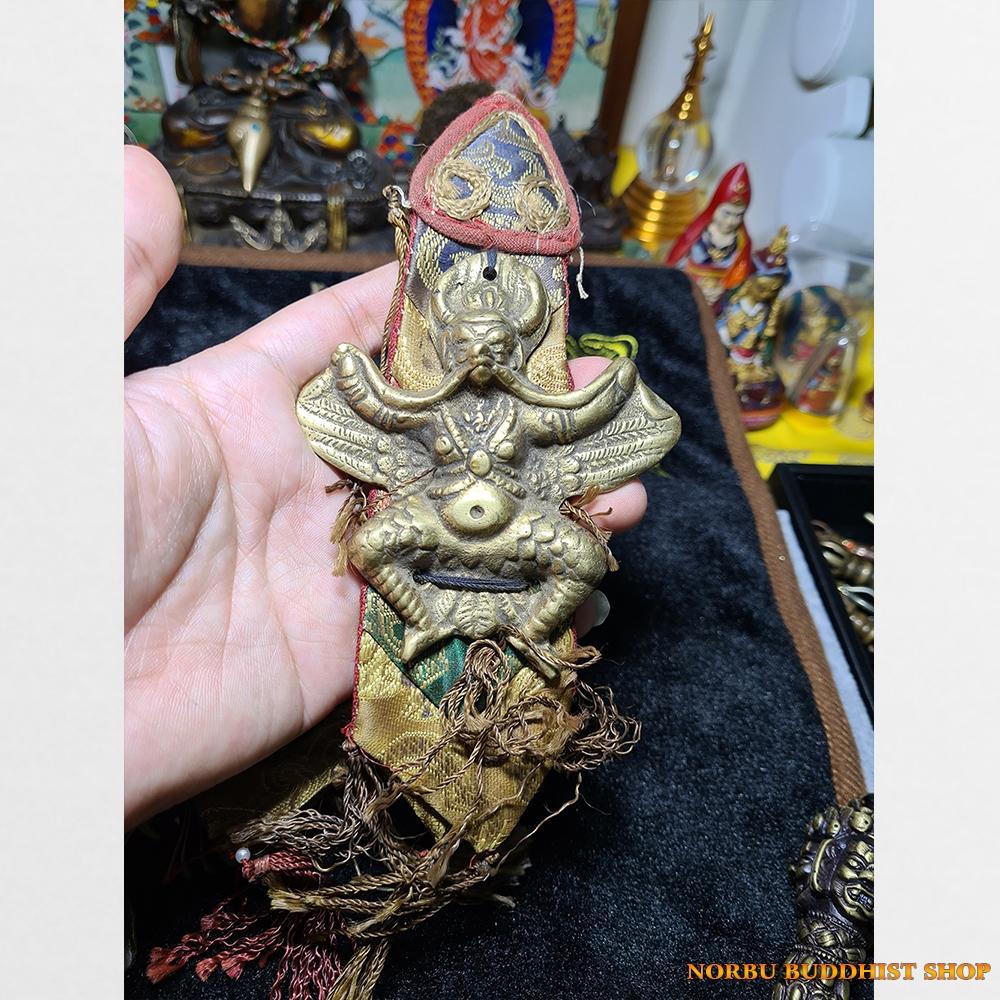 Dải yếm Garuda để buộc vào pháp khí hoặc trống chod