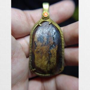 Mặt xương bọc đồng từ Tibet cỡ lớn