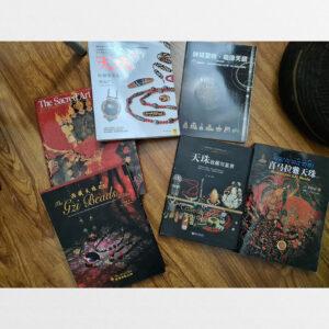 Sách về dzi bead thokcha thanka bead of himalay và nghệ thuật Phật giáo Tây Tạng