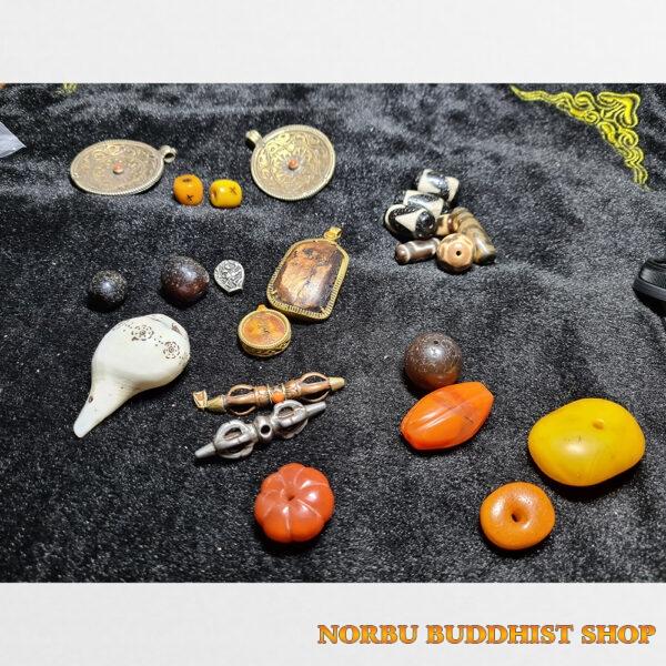 Tổng hợp hạt dzi hạt mã não ốc thokcha xương hàng mới về tại Norbu Shop