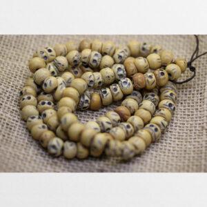 Chuỗi xương 108 hạt tập pháp hành phẫn lộ hàng antique